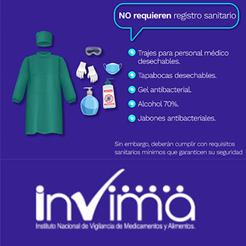 Coronavirus COVID - 19 - INVIMA